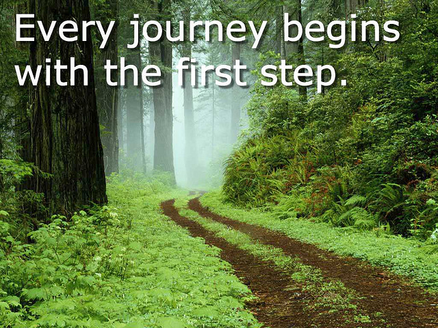journey-begins-with-first-step