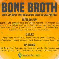 Bone broth has many benefits
